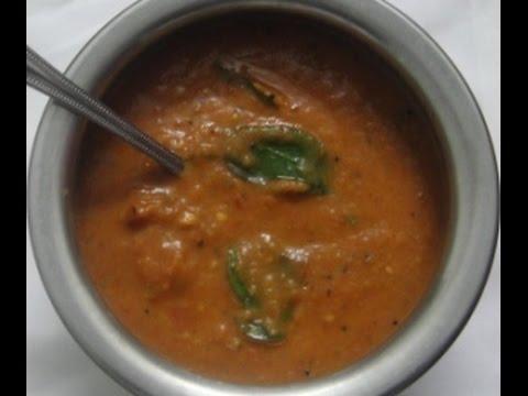 Tomato Onion Chutney In Tamil   Without Coconut   Thakkali Vengaya Masiyal   Gowri Samayalarai
