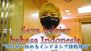 Saya belajar bahasa Indonesia #1 ゼロから始めるインドネシア語勉強記