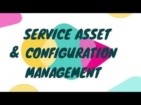 ITIL - SERVICE TRANSITION - SERVICE ASSET & CONFIGURATION MANAGEMENT