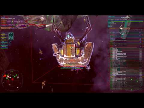 Vendetta Online - Goliath - Taking down a Leviathan