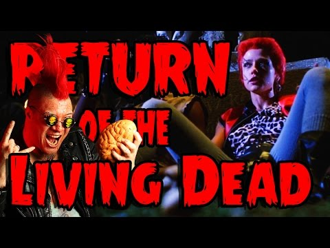Return of the Living Dead (complete) - Count Jackula Horror Review