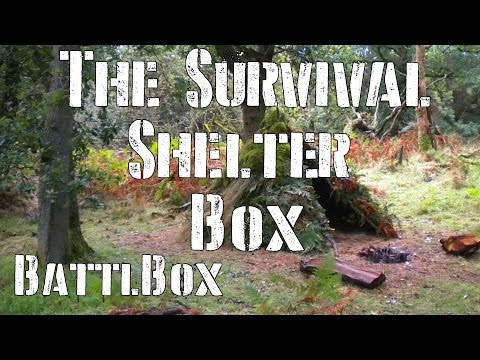 The Survival Shelter Box: BattlBox Mission 20 Review