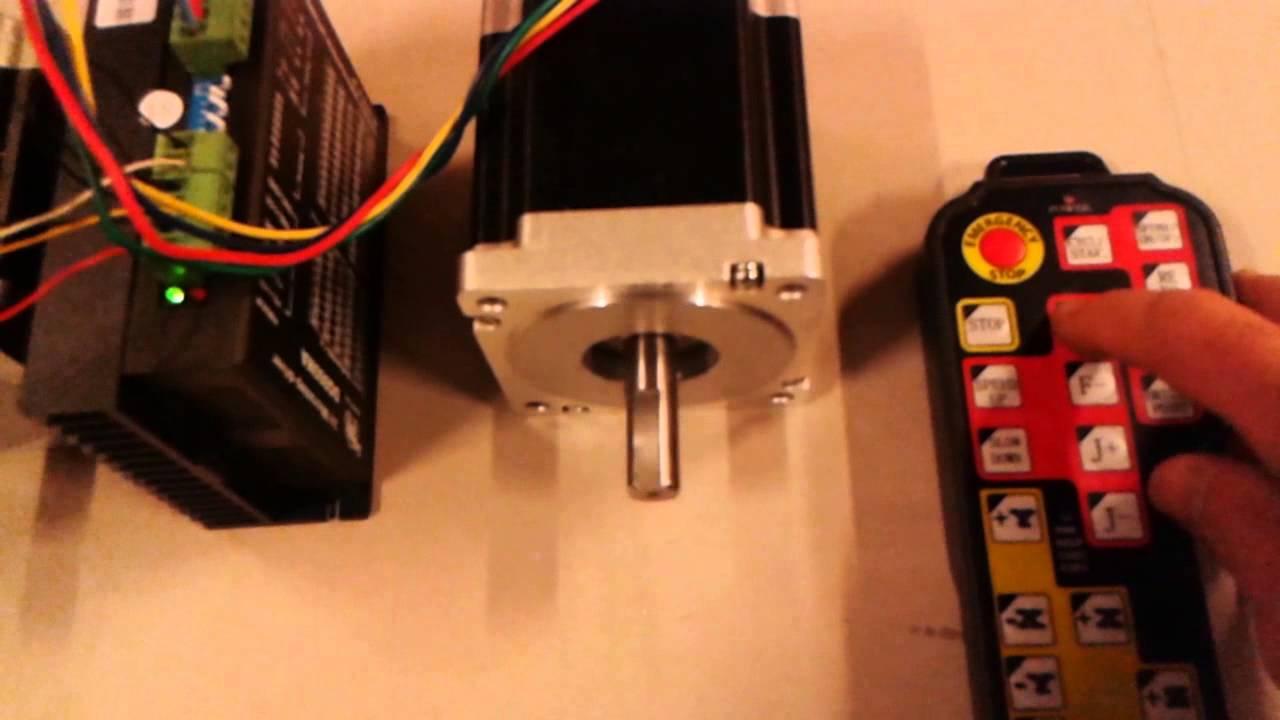 4 axis stepper motors nema 34 7 7nm driver 7 8a 60v for How to test stepper motor