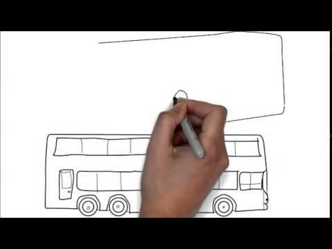 Comment dessiner un bus moin d 39 une minute youtube - Comment dessiner une monster high ...