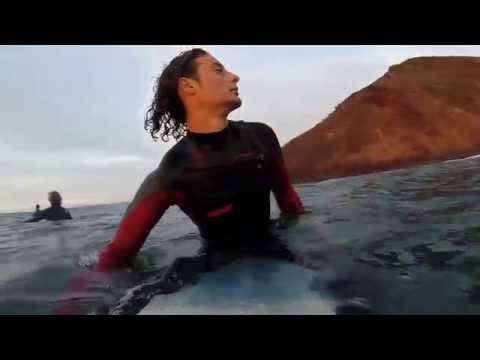 surfing canary islands, pura vida