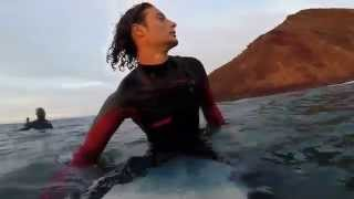 surfing canary islands, pura vida