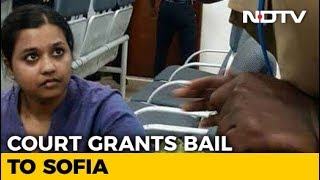 """Student Arrested For Shouting """"Fascist BJP Government"""" On Plane Gets Bail"""