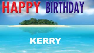 Kerry - Birthday cards - Happy Birthday