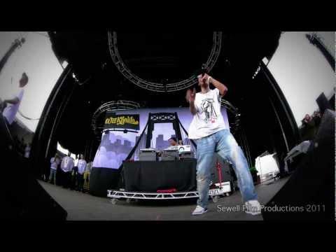 Wiz Khalifa - No Sleep - Live Fish eye View! 1080p WOW!