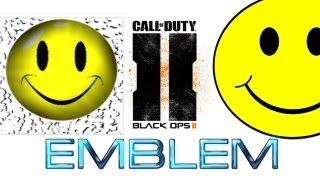 BLACK OPS 2 3D SMILEY FACE EMBLEM TUTORIAL (EASY)