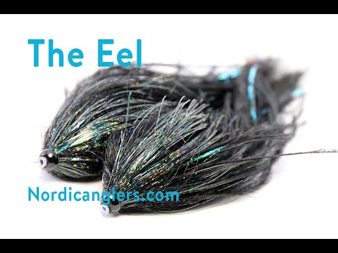 Pike Tube Fly Tying Lesson, Step By Step, How To Tie The: The Eel