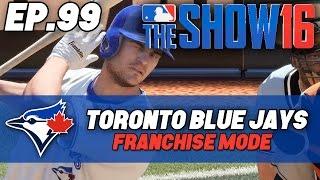 "MLB The Show 16 Blue Jays Franchise ep. 99 - ""Duda vs Murphy"" (2020 Astros vs Jays)"