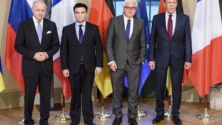 НОВОСТИ СЕГОДНЯ! Переговоры по украинскому кризису с участием глав МИД нормандской четверки! Новости