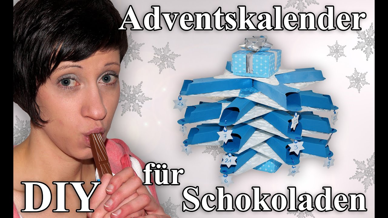 adventskalender f r schokolade bastelanleitung youtube. Black Bedroom Furniture Sets. Home Design Ideas