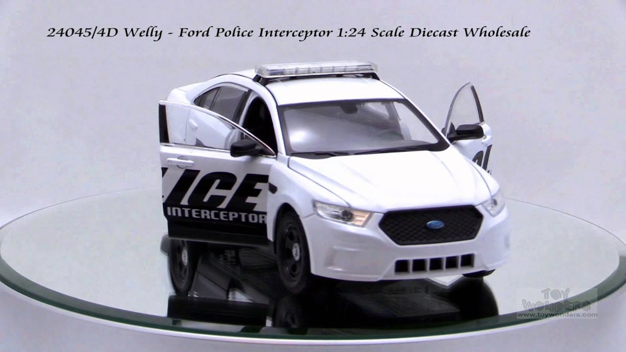 Ford Interceptor Police 1:24 Model 0325 WELLY