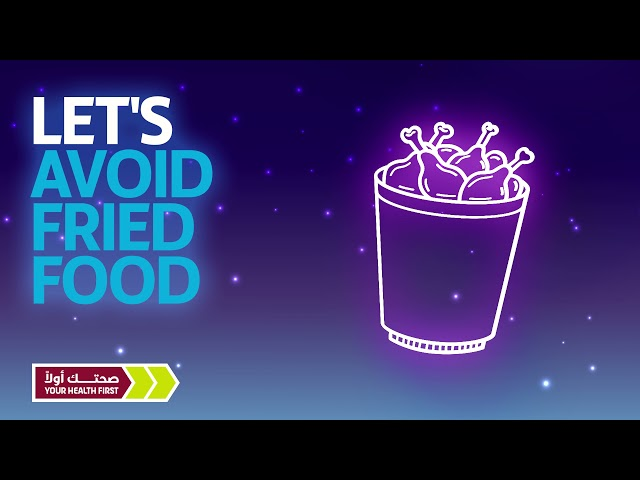 Stay away from unhealthy food