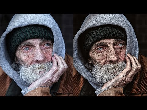 Photoshop Tutorial: Dragan Style Photo Effect - Dramatic Eye-Catching Portraits