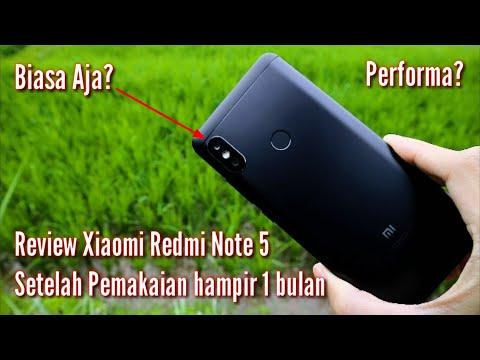 Review Kelebihan Dan Kekurangan Xiaomi Redmi Note 5 Setelah Pemakaian Hampir Sebulan