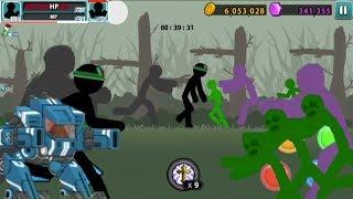 HULK AND ROBOT VS ZOMBIE HULKS | Zombie level 40 | Anger Of Stick 5