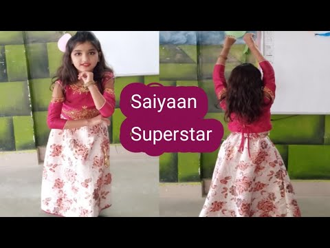 Saiyaan Superstar | Dance By Pretty Girl | Children's Day  { Kids Dance }