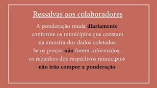 Mudança metodológica nos Indicadores do Suíno Vivo CEPEA/ESALQ