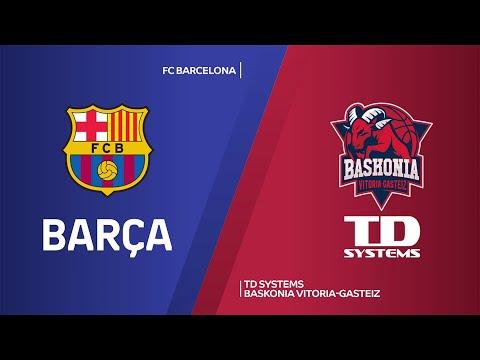 FC Barcelona - TD Systems Baskonia Vitoria-Gasteiz Highlights   EuroLeague, RS Round 28