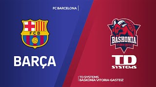 FC Barcelona - TD Systems Baskonia Vitoria-Gasteiz Highlights | EuroLeague, RS Round 28