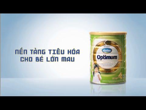 Quảng cáo Vinamilk cho bé – Phim tự giới thiệu Vinamilk – Sữa Bột Cao Cấp Dielac Optimum 2013