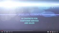 UPSELLER AI CHATBOTS AS A SERVICE