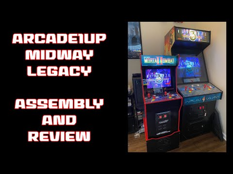 Arcade1up Midway Legacy Unboxing, Assembly, and Review from SonicGT73