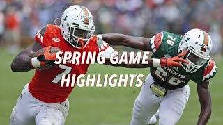 Miami Hurricanes 2016 Spring Game Highlights