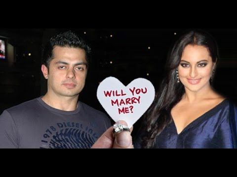 sonakshi sinha get a marriage proposal from her ex boyfriend youtube