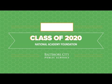 National Academy Foundation- Class of 2020