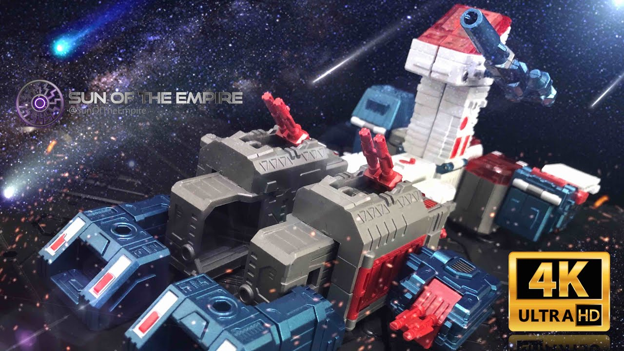[SimplyTransform 21]  Zeta Toys EX09 Ford   Metallic Version Fortress Maximus