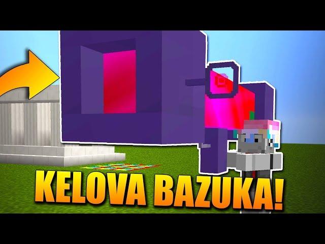 KELO A JEHO ŠÍLENÁ BAZUKA!😱😂Lucky Block Race w/Kelohap