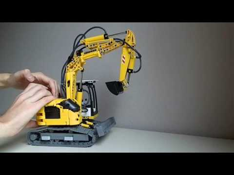 lego technic liebherr 914 compact youtube. Black Bedroom Furniture Sets. Home Design Ideas
