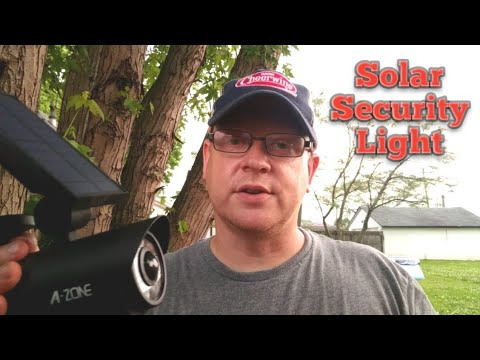 Review of A Zone Security Solar Light