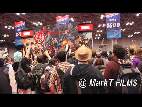 NEW YORK COMIC CON JACOB JAVITS CENTER