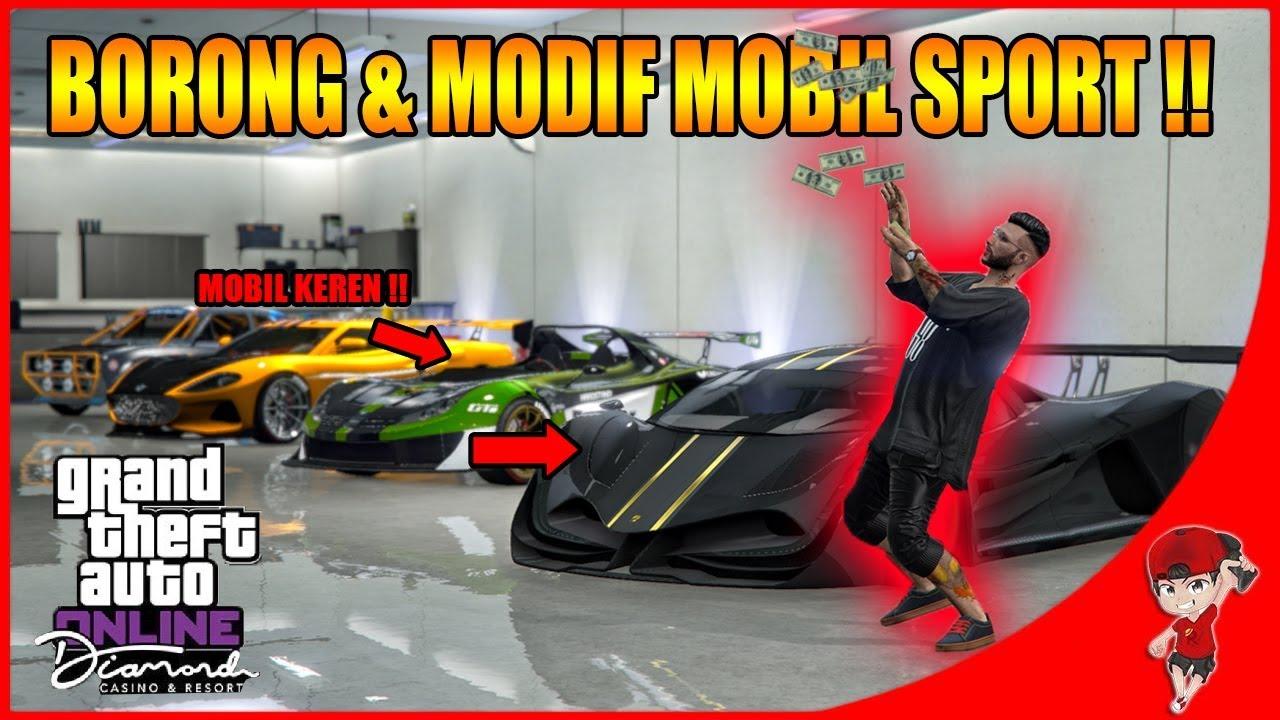 Borong Ayo Modif Mobil Sport Gta V Online The Diamond Resort Youtube