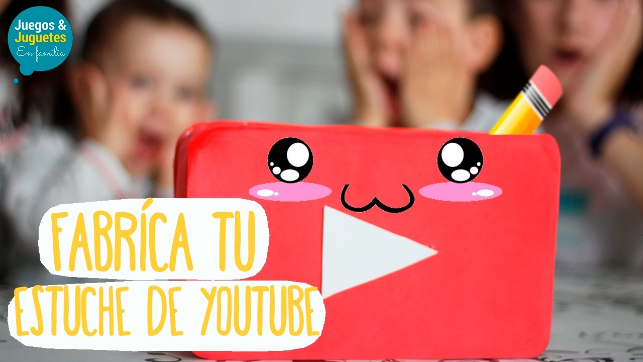 Manualidades Faciles Con Goma Eva Fabrica Tu Estuche De Youtube