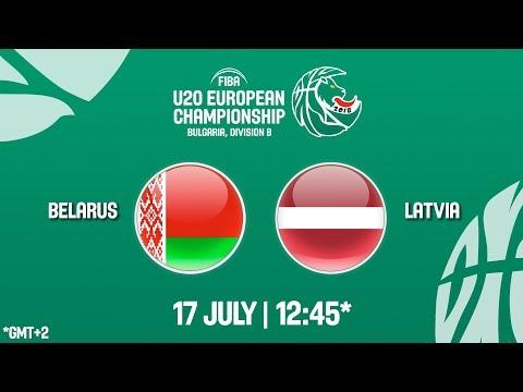 LIVE 🔴 - Belarus v Latvia - FIBA U20 European Championship Division B 2018