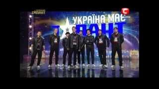 """""""Україна має талант-5"""".Команда """"158 Crew"""" [16.03.13] [Донецк]"""