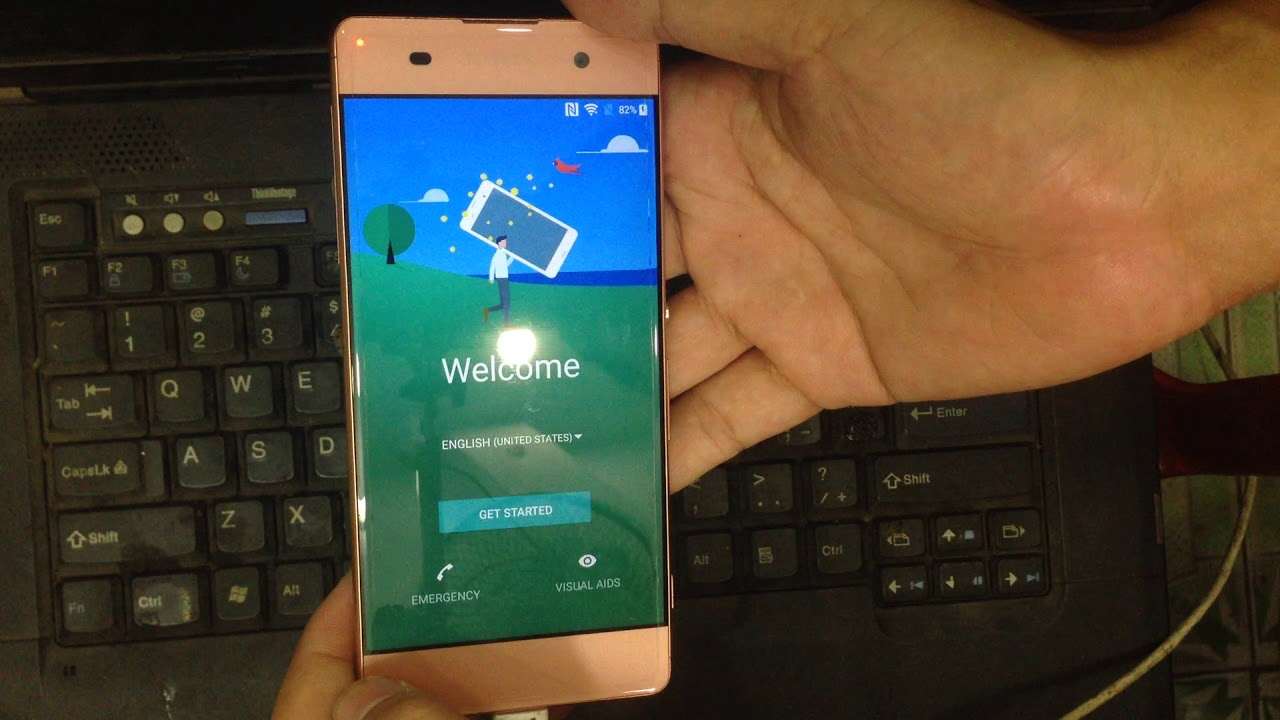 bypass google account sony XA f3116 android ver 7 0