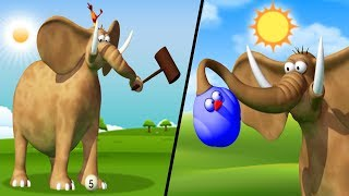 Jungle Games | Funny Animal Cartoon For Kids | Gazoon Official
