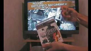Unboxing - Battlefield Bad Company 2 Ultimate Edition (PS3) - CA