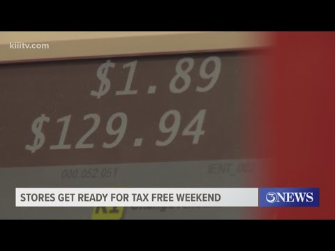 Tax-free weekend in Texas: See list of items that will and won't be taxed