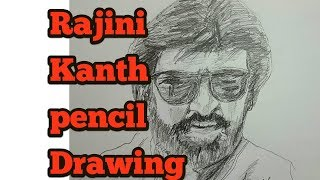How to draw a Rajini Kanth image easily