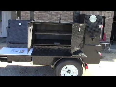 Back Yard BBQ Smoker Grill Trailer Catering Food Truck Business FOR SALE Atlanta