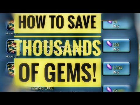 Lords Mobile - How To Save Thousands Of Gems!
