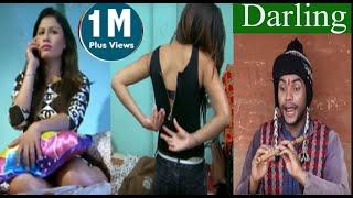 nepali comedy khichadee 2 DARLING by magne budo sandesh lamichhane  battare,sabnam rai,manisha.